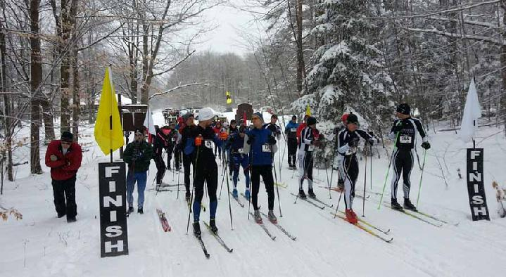 22K Start Group at the 2013 Art Roscoe Loppet